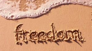 Vrijheid zand
