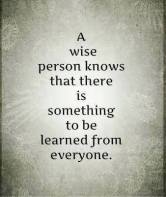 wise person learning
