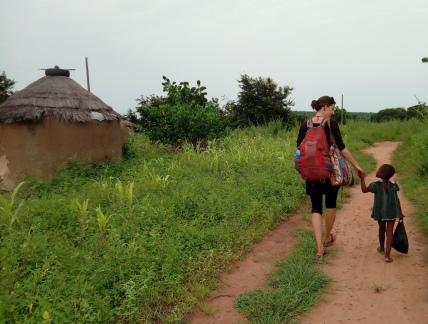 In eco-village Karimenga